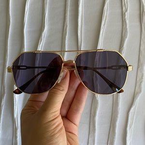MinkPink aviator sunglasses